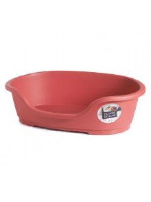 PLASTIC DOG BED NO4 RED